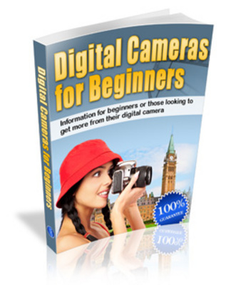 Product picture Digital Cameras For Beginners - Shoot Great Pictures!