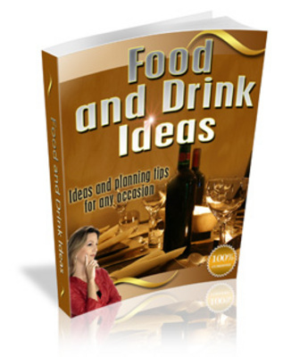 Product picture Food And Drink Ideas - Be The Perfect Host!
